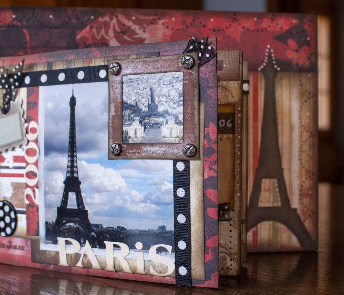 Paris sur un canvas