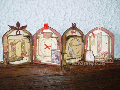 Cartes et tags de Noël 2007