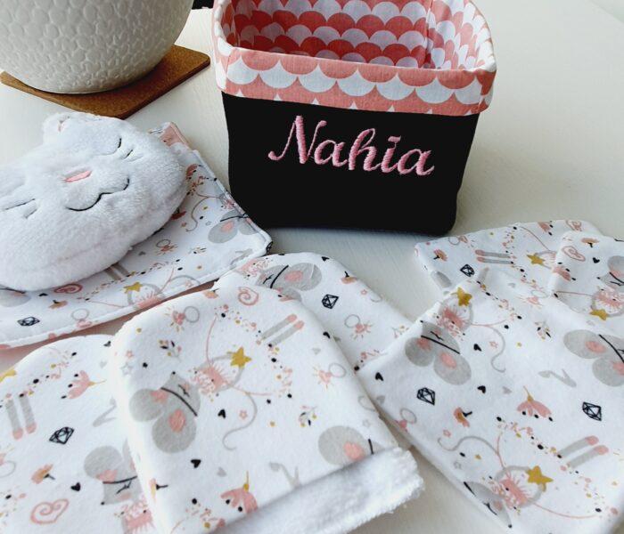 Ensemble naissance pour une petite Nahia