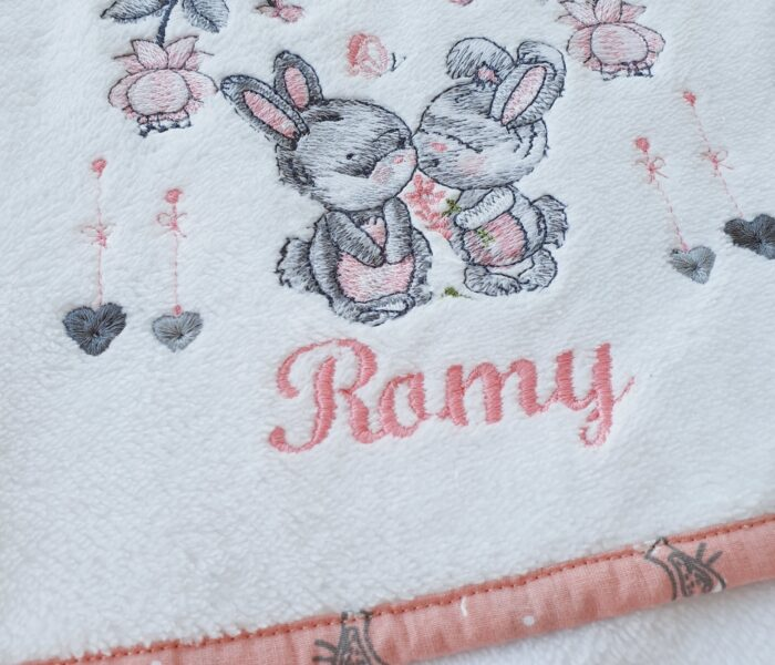 Ensemble naissance pour une petite Romy