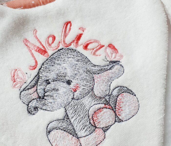 Ensemble naissance pour une petite Nelia